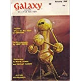 Galaxy Magazine, January 1969 (Vol. 27, No. 6) ~ Ben Bova