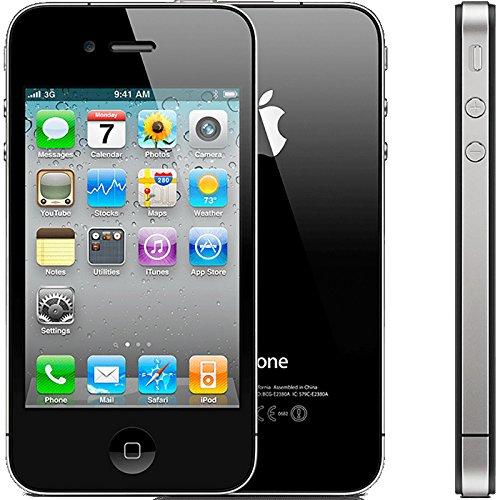 アップル Apple リファビッシュ iPhone4 16GB ブラック 正規SIMフリー版 海外版 日本語対応