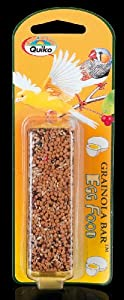 Quiko Bird Treats Eggfood Grainola Bar, 71 g, Pack of 6