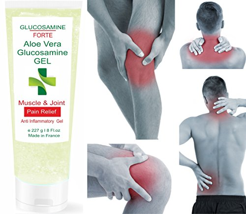 GLUCOSAMINA FORTE Gel Aloe Vera e Glucosamina 227 ml - Gel Sport Per gli atleti - PER ARTICOLAZIONI E CARTILAGINI