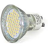 SMD SPOT GU10 230V HI-POWER 54 SMDs LEUCHTMITTEL LED LAMPE lux.pro® NEUHEIT --- TÜV geprüft ---