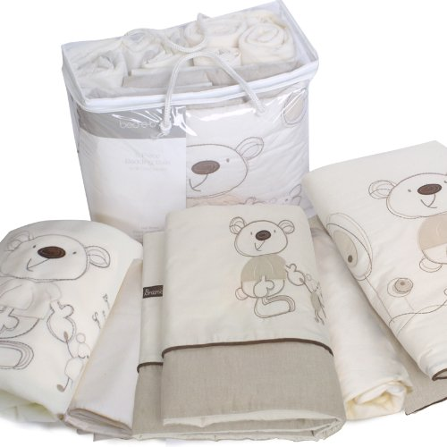 Bed-e-Byes Bramble and Smudge Bedding Bale Cot/ Cotbed (Quilt, Pack of 5 Pieces)