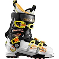 Scarpa Maestrale RS Ski Boots (White/Black/Yellow, 27)