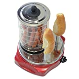 Milliard Hot Dog Maker with 2 Bun Warmers (Fits over 20 Hot Dogs) - Hot Dog Steamer Makes Perfect Hot Dogs Every Time with Amazingly Warm Rolls
