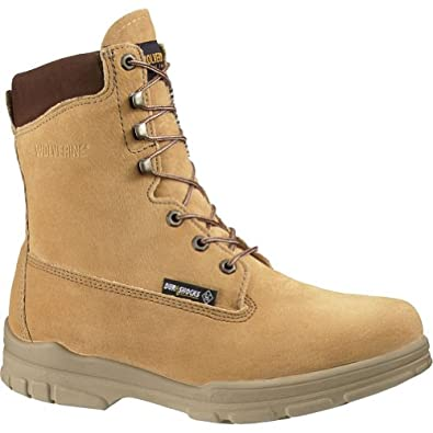 Wolverine Boots : Mens Waterproof Insulated Steel Toe Boots Gold W03711 Size 15.0N