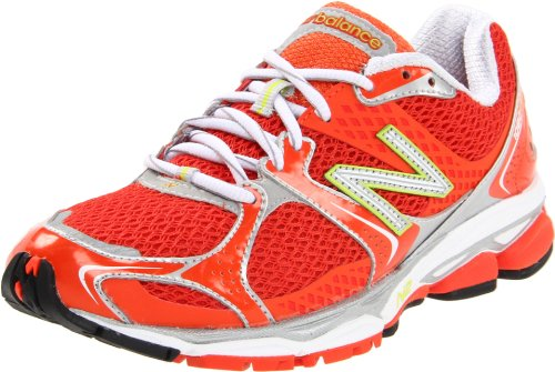 New Balance Women's W1080 Running Shoe,Cherry Tomato,7.5 B US