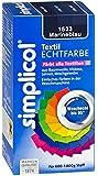 Simplicol Textil-Echtfarbe, flüssig, Marineblau, 250 ml