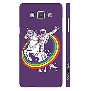 Samsung Galaxy A7 Astronauts Dream designer mobile hard shell case by Enthopia