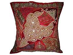 Mogul interior designs home decor floor cushion cover for Mogul interior designs