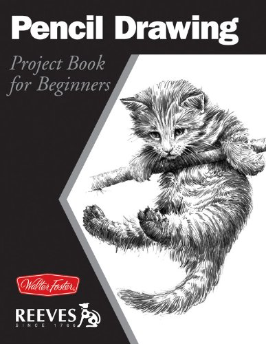 pencil drawing project book for beginners wf reeves