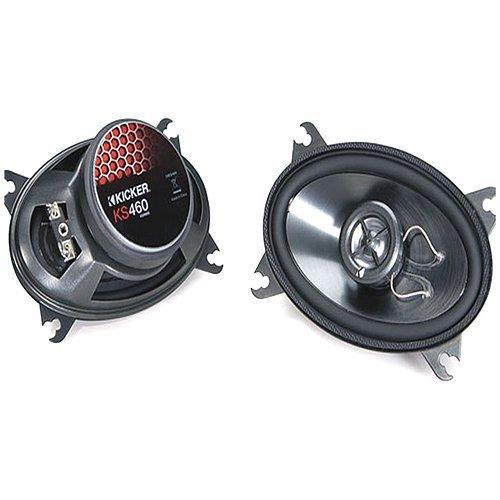 Kicker Ks460 4-Inch X 6-Inch 100Mm X 160Mm Coax Speaker