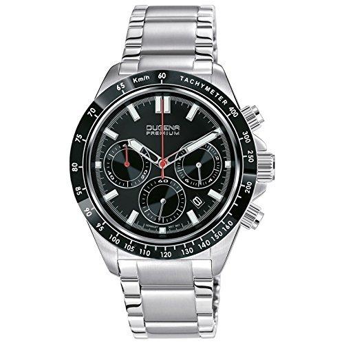 Dugena Premium Imola XL Men's Chronograph silver/black 7090170