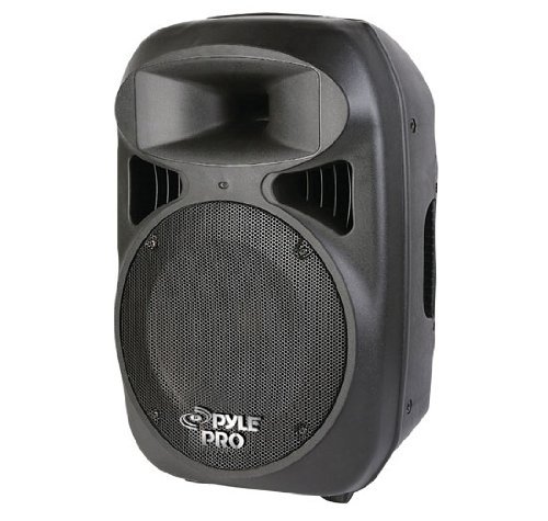 Pyle PPHP1599AI 15-Inch 1600 Watt Portable Powered 2 Way Full Range Loud Speaker System with Built in MP3/USB and iPod Dock
