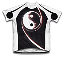 Jing Jang Short Sleeve Cycling Jersey for Men - Size XL