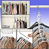 Hanger Cascader/ Wonder Hanger Platinum Edition- 2 Pack. Wonder, hangers, closet, clothes, cascading