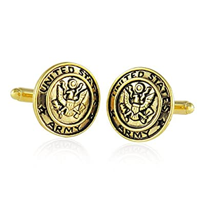 USA Military Cufflinks for Veterans by Cuff-Daddy