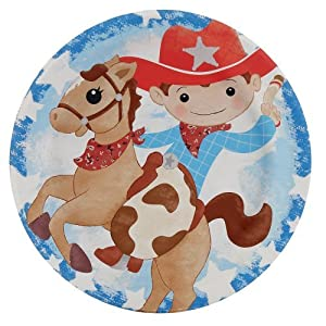 Click to buy Cowboy Dessert Plates (8) Party Suppliesfrom Amazon!