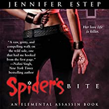 Spider's Bite: Elemental Assassin, Book 1 (       UNABRIDGED) by Jennifer Estep Narrated by Lauren Fortgang