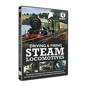 Driving and Firing Steam Locomotives 4DVD Box Set