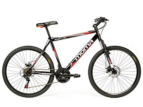 """Bicicletta Montagna Mountainbike 26"""" BTT SHIMANO, doppio disco e sospensione"""