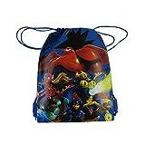 Officially Licensed Disney Drawstring Bag - Big Hero 6 Blue