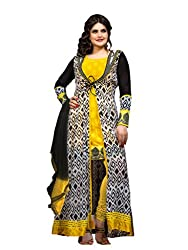 Neelkanth Women's Georgette Semi Stitched Dress Material (FB-PH7-2000_Multi-Coloured_Free Size)
