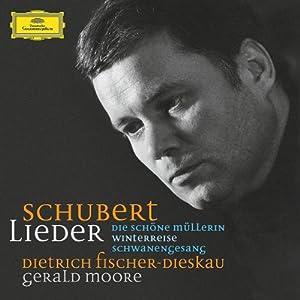 Franz Schubert — Gerald Moore Dietrich Fischer-Dieskau singt Lieder von Franz Schubert - 1. Folge