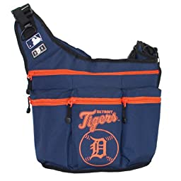 MLB Detroit Tigers Diaper Bag, Navy, 16\