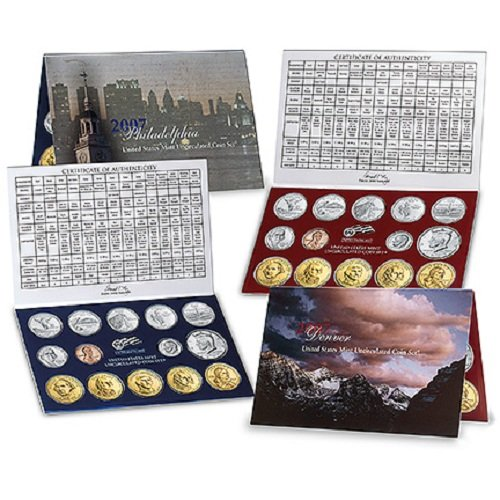 2007 U.S. Mint Set - Complete P & D 28-coin Set SATIN FINISH