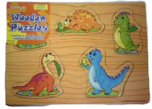 Cheap Forever Toys Forever Toys Wooden Puzzles Dinosaurs (B0036R9FD2)