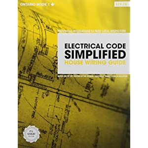 electrical code simplified ontario book 1 house wiring. Black Bedroom Furniture Sets. Home Design Ideas