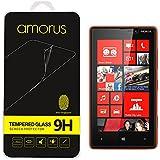 Amorus® Anti-explosion Tempered Glass Screen Protector for Nokia Lumia 820