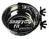 MidWest 40-20 Snap'y Fit Water and Feed Bowl, 20 Ounces