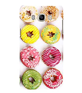 Assorted doughnuts 3D Hard Polycarbonate Designer Back Case Cover for Samsung Galaxy J5 2016 :: Samsung Galaxy J5 2016 J510F :: Samsung Galaxy J5 2016 J510FN J510G J510Y J510M :: Samsung Galaxy J5 Duos 2016