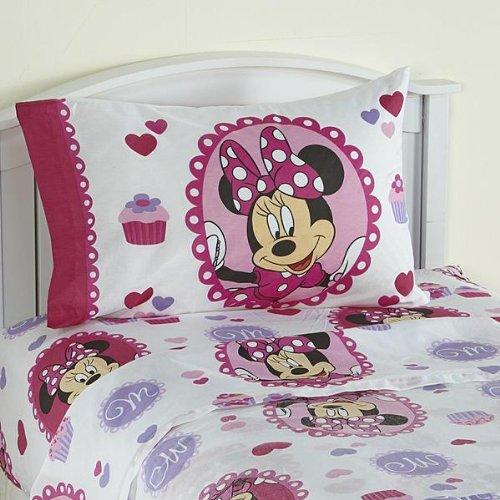 Disney Minnie Boutique Sweet Treats Pillowcase - 1
