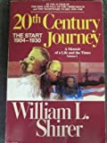 20th Century Journey (0553342045) by Shirer, William L.