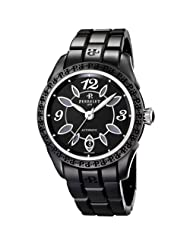 Discounted Womens Perrelet Eve Black Ceramic Watch A2041/B Limited time