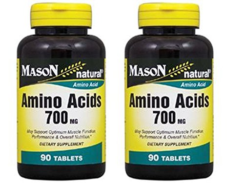 4 Bott Super Amino Acids 700 mg L-ARGININE For optimum muscle function, performance & overall nutrition (Bec Omega compare prices)
