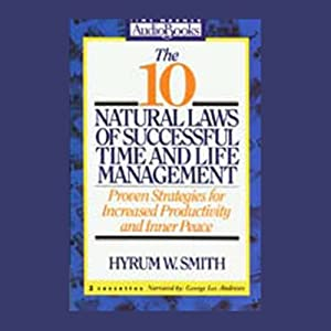 The 10 Natural Laws of Successful Time and Life Management Hörbuch