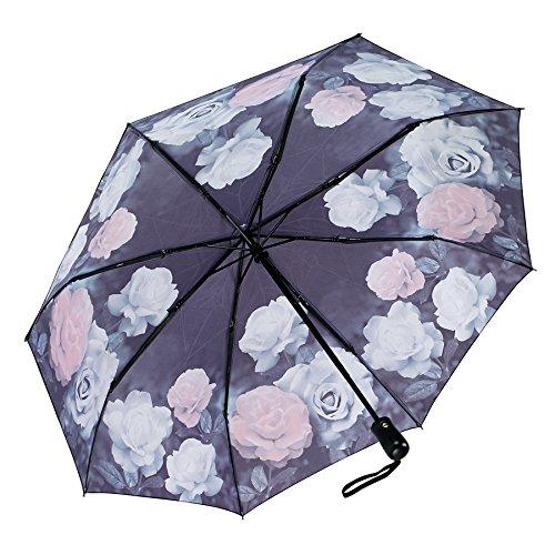 Vintage Roses Folding Umbrella 1