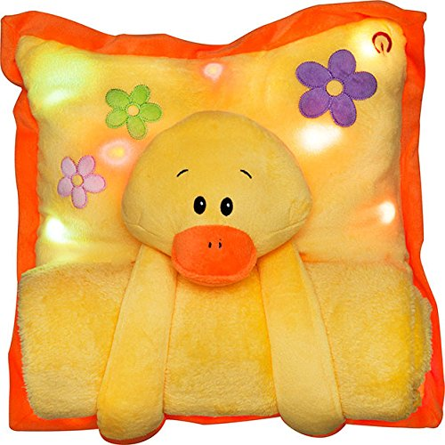Melody Mates Musical Night Light Pillow And Blanket Duck