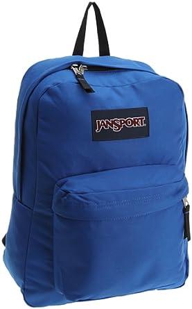 JanSport SuperBreak 经典学校背包 $21.40