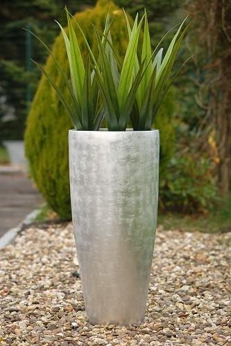 pas cher pot de fleurs jardinire grand cm argent ultra brillant city