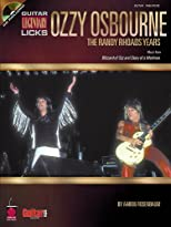 Ozzy Osbourne: The Randy Rhoads Years (Guitar Legendary Licks)