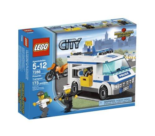 51AsCqQMyFL LEGO Police Prisoner Transport 7286