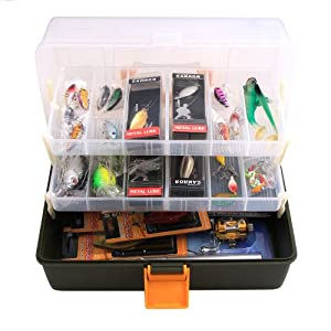 Fishing Collection Hard Lure Soft Plastic Jig Swivel Spinner Sabiki Etc. With Box by FreeFisher