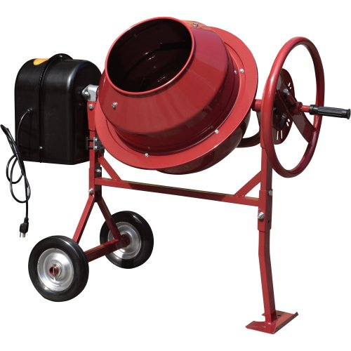 Cheap Northern Industrial Mini Electric Cement Mixer - 1.77 Cubic Ft., Model# CM125