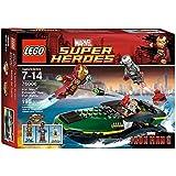 Lego Super Heroes - Marvel - 76006 - Jeu de Construction - La Bataille du Port Extremis - Iron Man