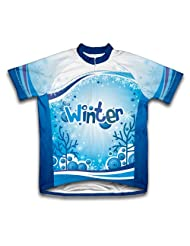 Winter Time! Short Sleeve Cycling Jersey for Women