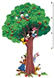 Disney Mickey and Friends Growth Chart Decal 39x60- Minnie Goofy Donald Daisy Pluto